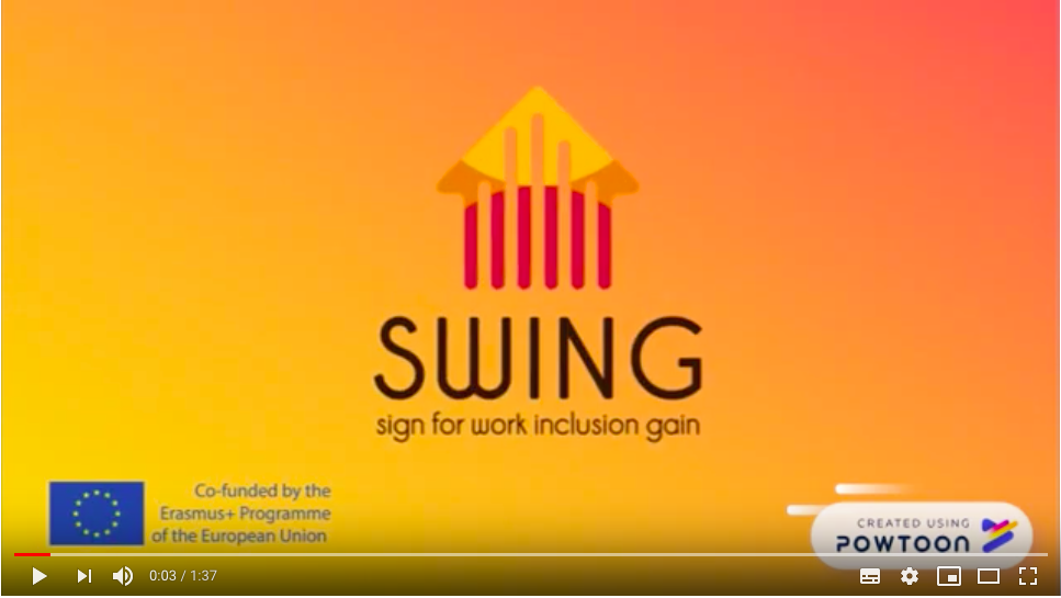 SWING promotional video is here!