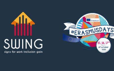 SWING PRESENTED ON ERASMUS DAYS 2020!